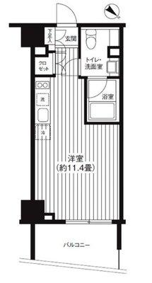 これぞ、東京タワー。 の間取り