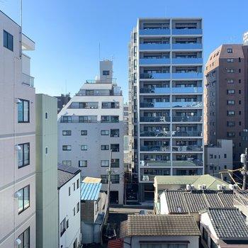 眺望は閑静な住宅街です。