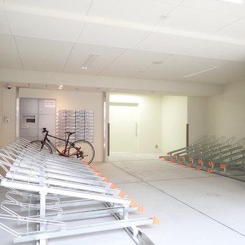 【共用部】整っている自転車置場