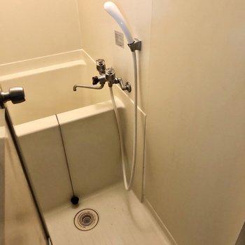 お風呂は少しコンパクトです・・・(※写真は清掃前のものです)