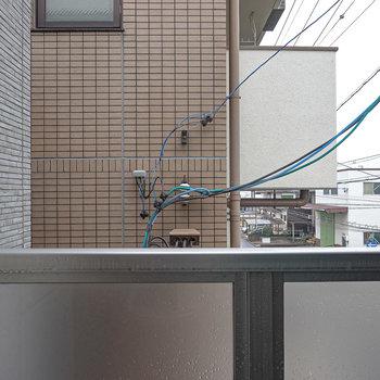 眺望はお隣さんですが、その分視線は気になりません。