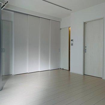 一面の扉、何が隠されているんだろう!