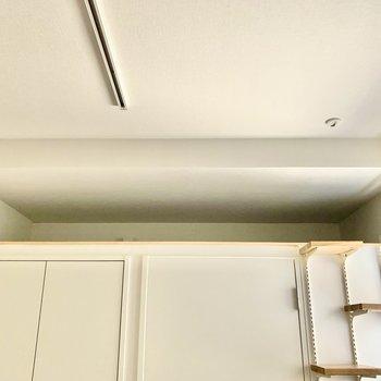 猫ロフトにはクッションを置いて、リラックススペースに※写真は3階の同間取り別部屋のものです