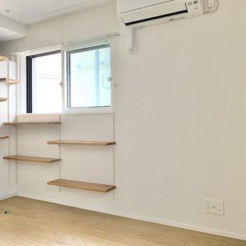テレビはキャットウォークの隣に置けますね※写真は3階の同間取り別部屋のものです