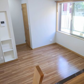 シンプルな間取りで家具のレイアウトもしやすそう。※写真は前回募集時のものです