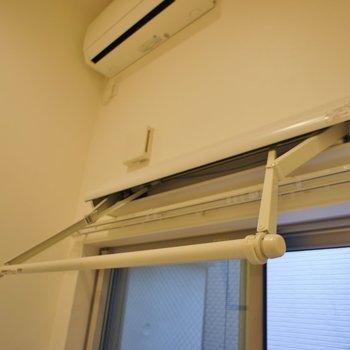だからお洗濯はこんなのを使うのも◎。※写真は、1階の同タイプのもの