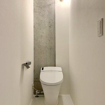 【2F】奥行きのあるトイレですよ