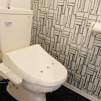 トイレの壁紙かわいい
