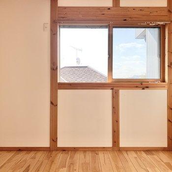 【1階洋室4.5帖】エアコンは後付けすることもできますよ。
