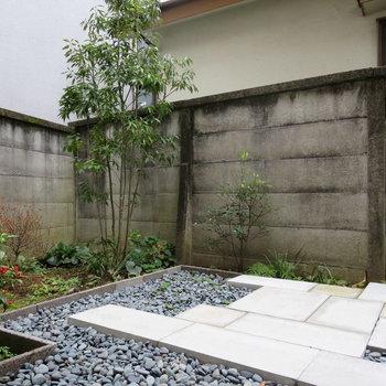 日本庭園のような庭です※写真は前回掲載時のものです