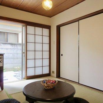 趣のある和室※写真の家具はサンプルです※写真は前回掲載時のものです