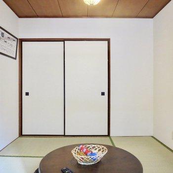 【和室】畳の上でゴロゴロするのもいいですね※写真の家具はサンプルです※写真は前回掲載時のものです