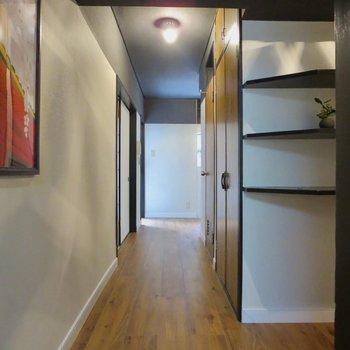 廊下も雰囲気あるな~※写真は前回掲載時のものです