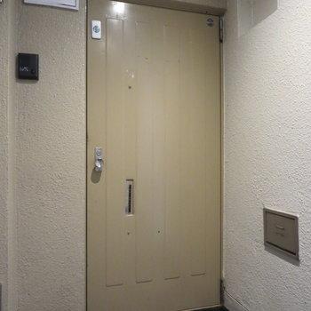 共用部は完全に室内なので、雨風にあたる心配はありません※写真は前回掲載時のものです