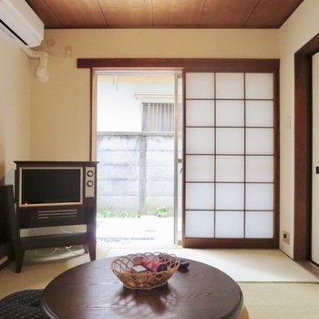 【和室】ふすまを開けて庭を眺めたい※写真の家具はサンプルです※写真は前回掲載時のものです