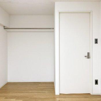 見せる収納スペースがここに!※写真は4階の同間取り別部屋のものです