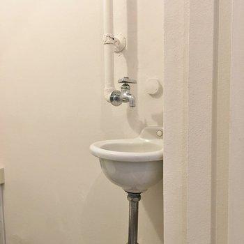 お手洗いにちょこんと付いてて可愛いっ♡