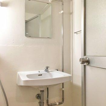 お風呂と同室ですが、気になりませんよ!