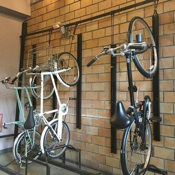 自転車置き場もこんなにもかっこいい!