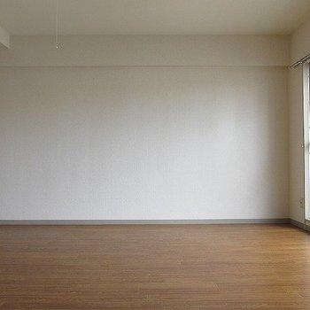 ワンルームのいいところは家具を選ばないところです!(※写真と文章は反転間取り別部屋のものです)