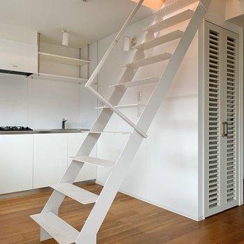 さて、期待を持って階段を上りましょう。