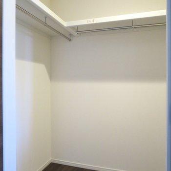 【2階洋室】左の扉を開けるとウォークインクローゼットがお目見えします