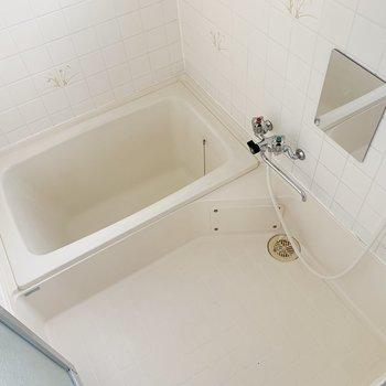 お風呂はスタンダードです。