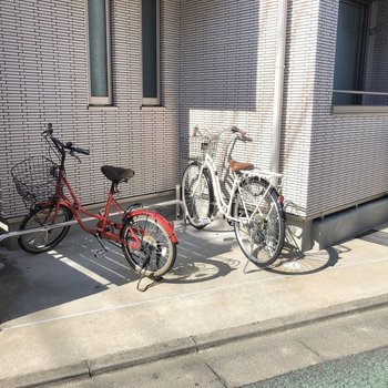 自転車があると移動が楽ですよね〜