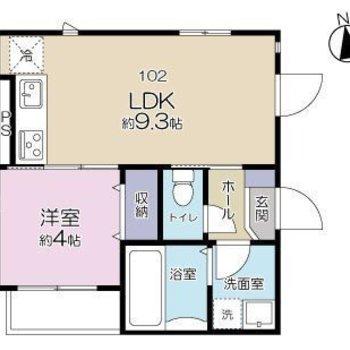 広々としたLDKがあるお部屋になっています。