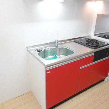 調理スペースも確保されていて、自炊もしっかりできそう!