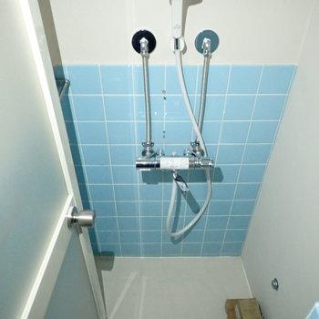 シャワーのみでした!鏡はなかったので、お気に入りのものをご用意ください!