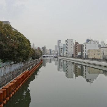 道頓堀と大阪の街