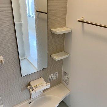 浴室まで充実の設備