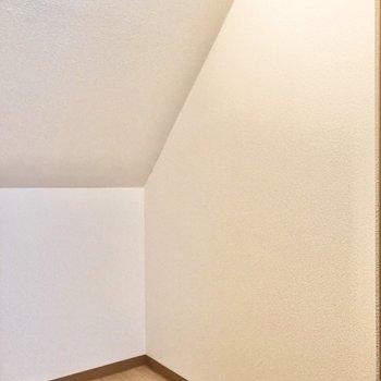 【洋室5.7帖】広いので服以外にも荷物が置けます。※写真の家具はサンプルです