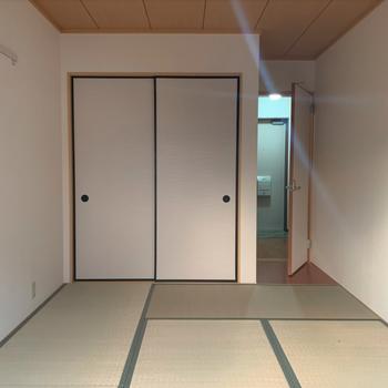 【工事前】いまは和室ですが、ここも無垢床でナチュラルな洋室になります!