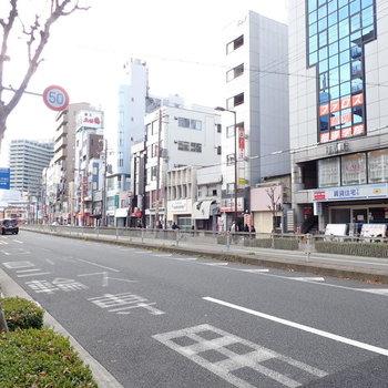 都島駅周辺はいろんな飲食店が集まっているのでご飯に困らない!