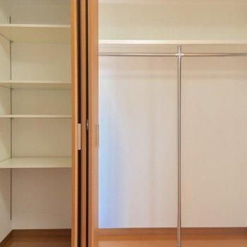 【4帖洋室】収納が大容量〜!※写真は3階の反転間取り別部屋のものです