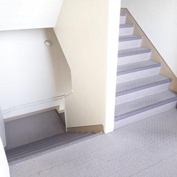 階段はありますよ