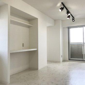 白系のお部屋って清潔感あって良いな。※写真は前回募集時のもの