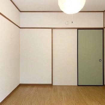 【洋6−3】グリーンのドアが素敵◎