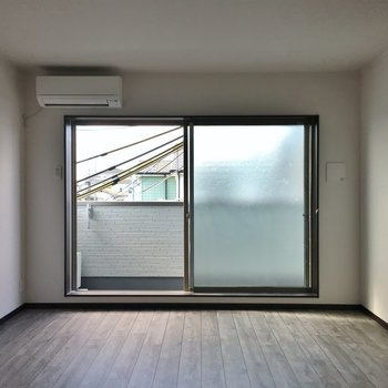 窓が大きい!!。※写真は3階の同タイプのもの