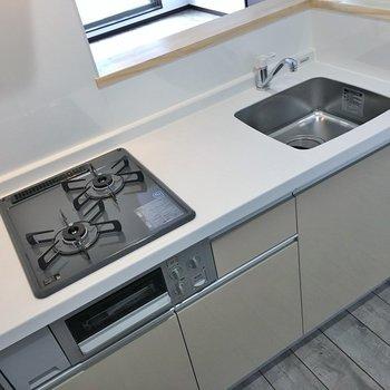 調理スペースもまずまず。※写真は3階の同タイプのもの