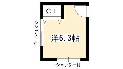 Share House Kyoto 235 の間取り