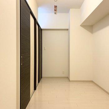 こちらがクローゼットと繋がっている洋室です。