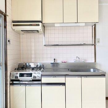 使いやすそうなキッチン。