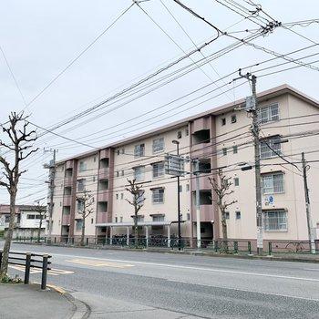 1992年生まれのの4階建てマンション。