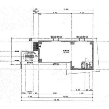 ワンルームのお部屋が地下1階と1階に。