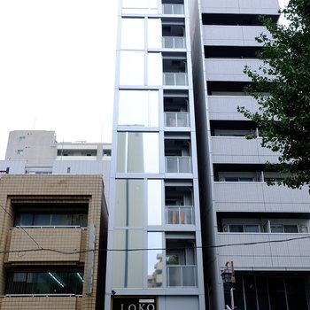 1階にはイタ飯屋さん(※写真は8階の同間取り別部屋のものです)