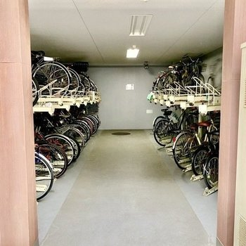 自転車も安心!
