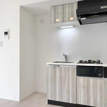 冷蔵庫スペースは確保されています。※写真は前回募集時のものです